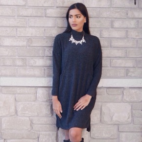 Sumbal Chaudhry sweater dress fashion