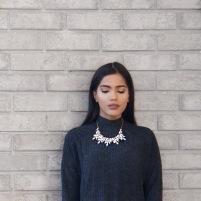 Sumbal Chaudhry sweater dress fashion
