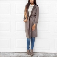Sumbal Chaudhry Suede Coats